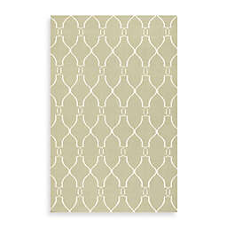 Jill Rosenwald Afton 2' x 3' Accent Rug in Sage/Ivory