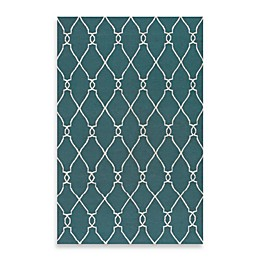 Surya Afton Rug in Turquoise