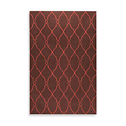 Jill Rosenwald Afton 2' x 3' Accent Rug in Brown/Rust