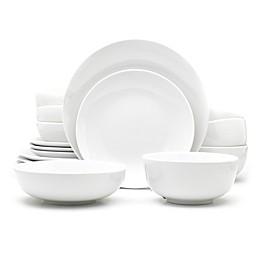 Euro Ceramica White Essential Dinnerware Collection