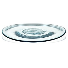 Libbey® Glass Prologue Luna Dinner Plates in Blue (Set of 4)