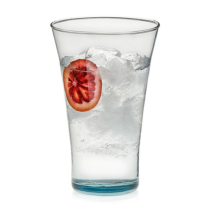 Alternate image 1 for Libbey® Glass Prologue Luna Tumblers in Blue (Set of 6)