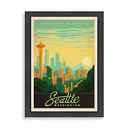 Americanflat Seattle Framed Wall Art