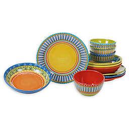 Certified International Valencia 12-Piece Dinnerware Set