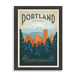 Americanflat Portland Framed Wall Art