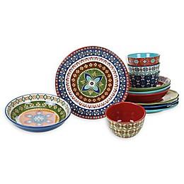 Certified International Monterrey 12-Piece Dinnerware Set
