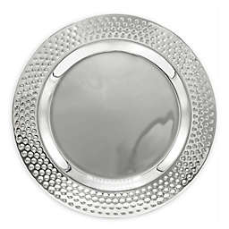 Bezrat Hammered Charger Plates (Set of 4)