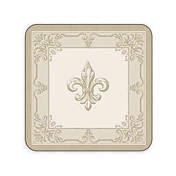 Pimpernel Fleur de Lis Coasters (Set of 6)