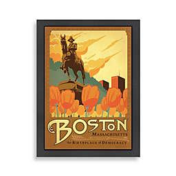 Americanflat Boston Framed Wall Art