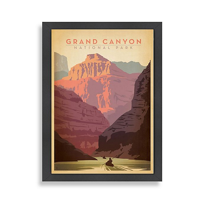 Alternate image 1 for Americanflat Grand Canyon Framed Wall Art