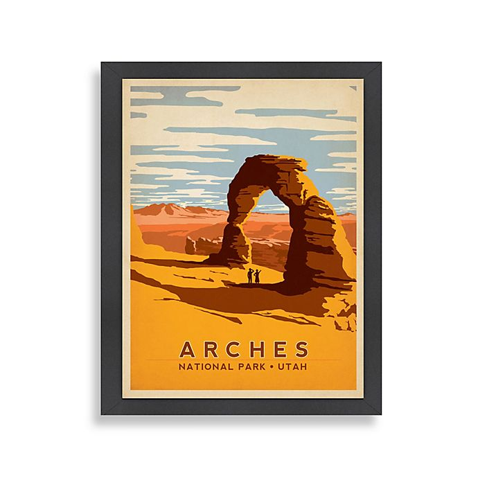 Alternate image 1 for Americanflat Arches Framed Wall Art