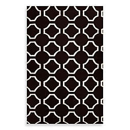 Surya Byron Rug in Black/Cream