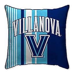Villanova University Variegated Stripe Decorative Throw Pillow