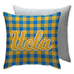 University of California, Los Angeles Checkered Square Indoor/Outdoor Throw Pillow