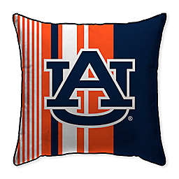 Auburn University Variegated Stripe Decorative Throw Pillow