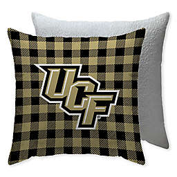 University of Central Florida Checkered Square Indoor/Outdoor Throw Pillow