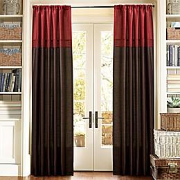 Lush Decor Geometrica 84-Inch Rod Pocket Window Curtain Panel Pair