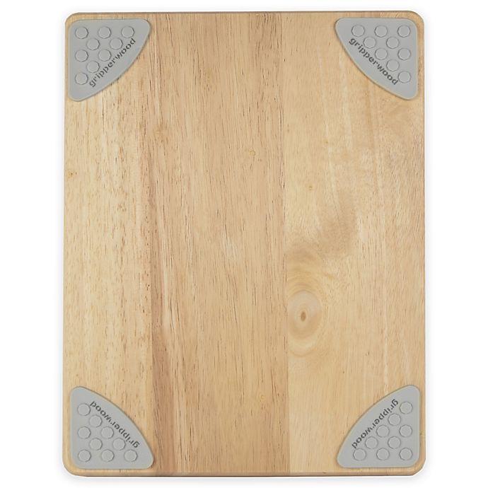 Alternate image 1 for Architec® Gripperwood™ 11-Inch x 14-Inch Wood Cutting Board