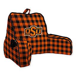 Oklahoma State University Buffalo Check Backrest Pillow