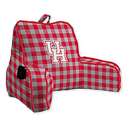 University of Houston Buffalo Check Backrest Pillow