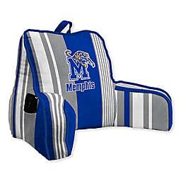 University of Memphis Striped Backrest Pillow
