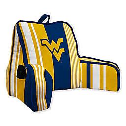 West Virginia University Striped Backrest Pillow