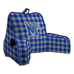 University of Memphis Buffalo Check Backrest Pillow