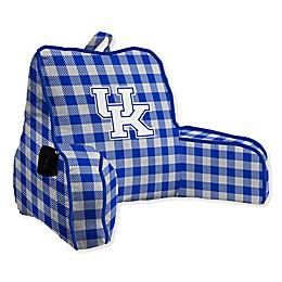 University of Kentucky Buffalo Check Backrest Pillow