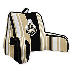 Purdue University Striped Backrest Pillow