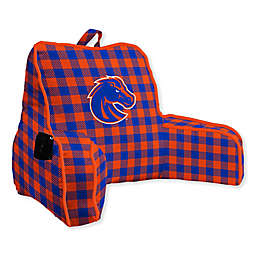 Boise State University Buffalo Check Backrest Pillow
