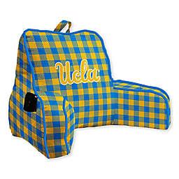 University of California at Los Angeles Buffalo Check Backrest Pillow