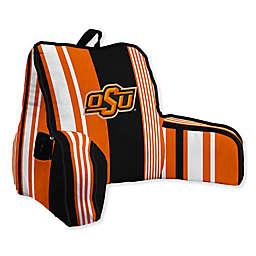 Oklahoma State University Striped Backrest Pillow