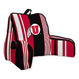University of Utah Striped Backrest Pillow