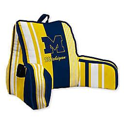 University of Michigan Striped Backrest Pillow