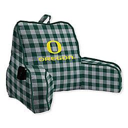 University of Oregon Buffalo Check Backrest Pillow