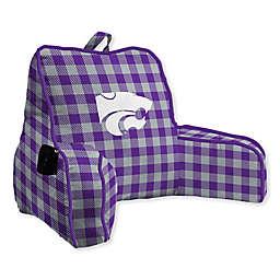 Kansas State University Buffalo Check Backrest Pillow
