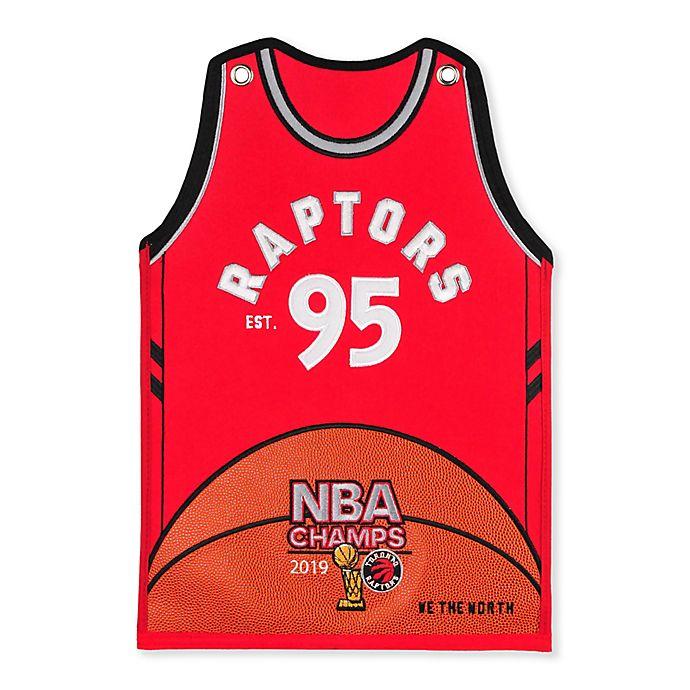 best sneakers c673d f74f9 NBA Toronto Raptors 2019 Champions Jersey Banner | Bed Bath ...