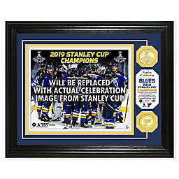 222f9b8f0bc NHL St. Louis Blues 2019 Stanley Cup Final Champions Victory Celebration  Frame