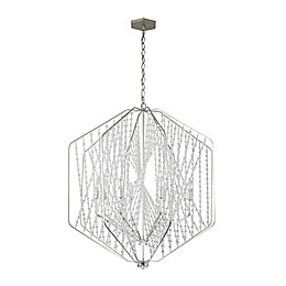 "<div class=""gwt-HTML"">Varaluz® Chelsea Ceiling-Mount Pendant in Silverado</div>"