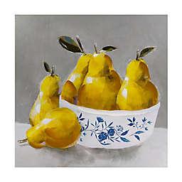 Pears 12-Inch Square Polyethylene Wall Art