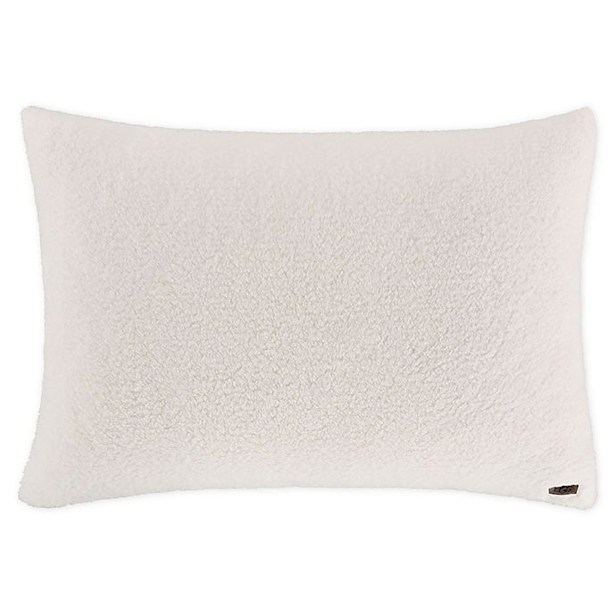 Alternate image 1 for UGG® Faux Sherpa Bed Pillow