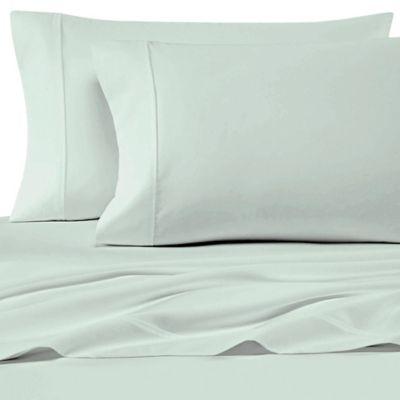 New WHITE STRIPE 4-pc Eucalyptus Origins™ 500 TC Tencel® Lyocell KING Sheet Set