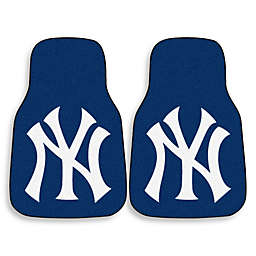 MLB New York Yankees Carpet Car Mat (Set of 2)
