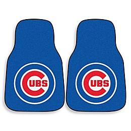 MLB Chicago Cubs Carpet Car Mat (Set of 2)