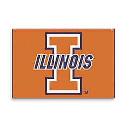 """University of Illinois 19"""" x 30"""" Starter Mat"""