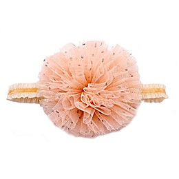 Khristie® Large Poof Headband in Coral