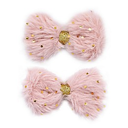 Khristie® 2-Pack Large Velvet Bow Hair Clips