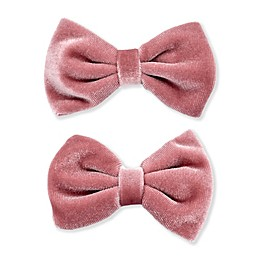 Khristie® 2-Pack Large Velvet Bow Hair Clips