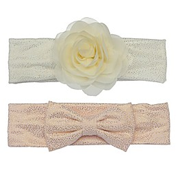 So 'Dorable™ 2-Pack Bow and Flower Headbands