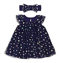 Baby Starters® Tulle A-Line Dress in Navy